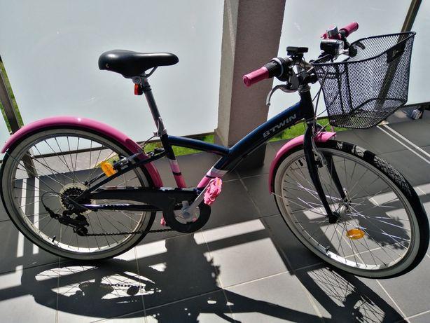 """Btwin rower  ORIGINAL 500 24"""" dla dziewczynki"""