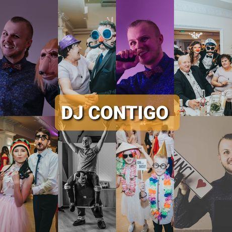 DJ CONTIGO na wesela, urodziny, imprezy okolicznościowe