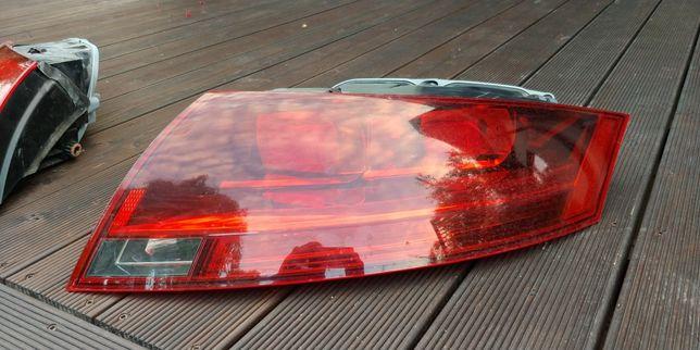 Audi TT 8j, lampa tył prawa, 2012 rok, z wkładem.