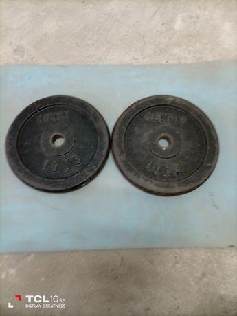 Disco de musculação 10 kg