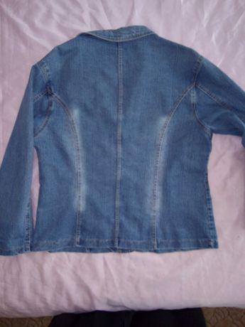 Kurtka jeans damska XL