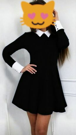 Школьная форма:платье+фартук