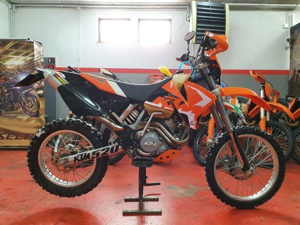 KTM EXC 520 EXC520 RFS Motorex DP Gniezno