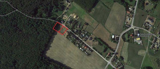 Sprzedam działki budowlane w przepięknej okolicy blisko lasu.