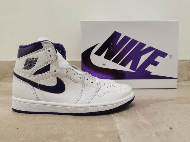Air Jordan 1 Retro High OG Court Purple 37.5