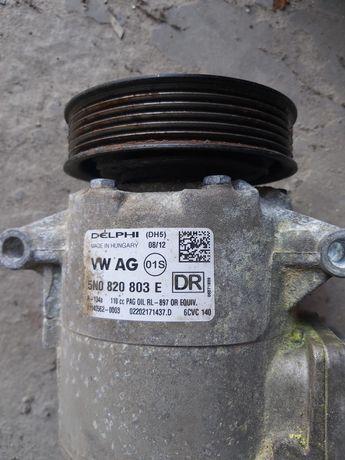 Копрессор кондиционера volkswagen passat B7 2012