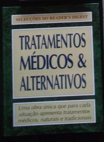 Livro sobre Tratamentos médicos e alternativos
