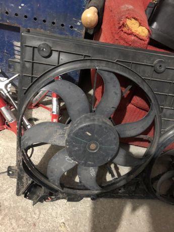 Вентилтор охлаждения диффузор vw jetta volkswagen jetta джетта