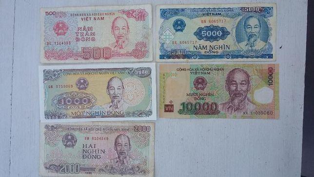 Wietnam - banknoty obiegowe