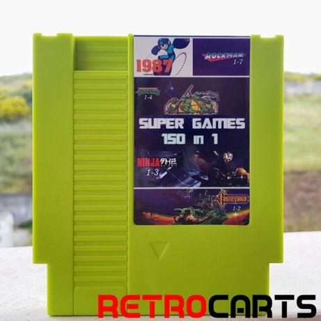 Nintendo NES - Super Mario, Donkey Kong, Megaman, todos os clássicos!