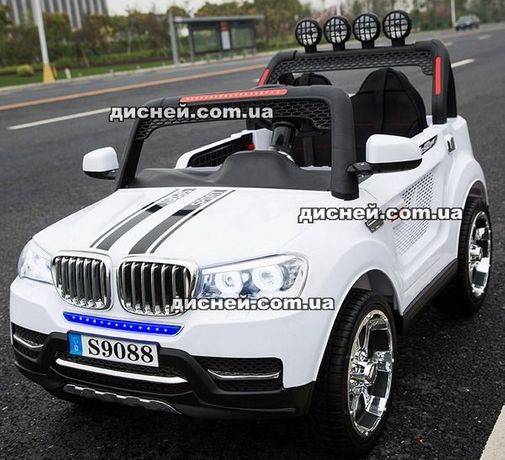 Детский электромобиль 3118 WHITE Джип , Дитячий електромобiль