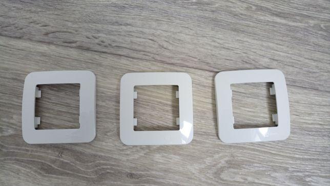 Одинарные рамки Makel для розеток, выключателей