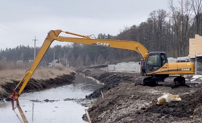 Копаем пруды, ставки, озера, очистка дна водоемов