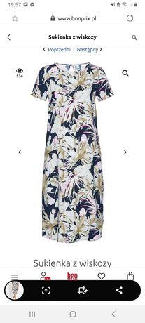 NOWA Sukienka w kwiatki 54