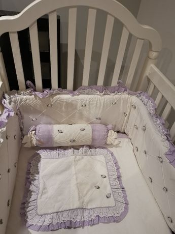 Cama Berço (Bebé/Criança) + Kits Almofadados
