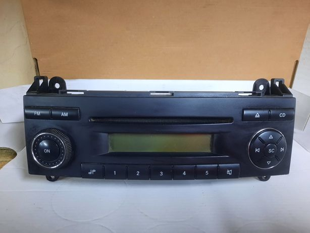 Radio CD Volkswagen crafter 2008 rok
