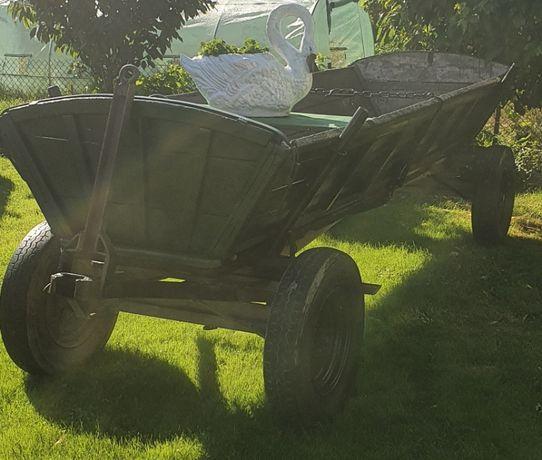 Wóz drewniany odnowiony