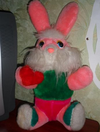 мягкая игрушка заяц