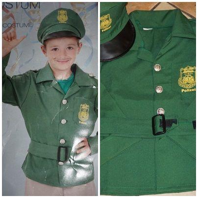 41) nowy strój policjanta 110/116