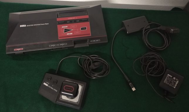 Sega Master System 1 com Sega JoyStick