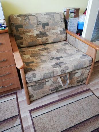 Łóżko jednoosobowe - rozkładane