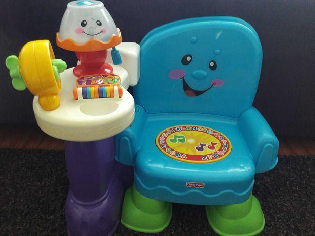 Krzeselko uczydełko Fisher Price