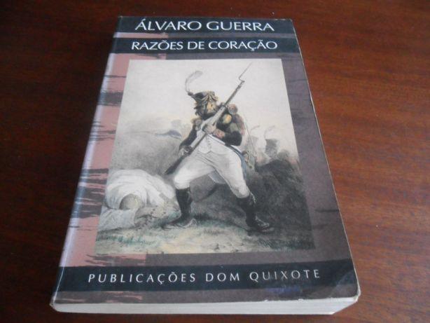 """""""Razões de Coração"""" de Álvaro Guerra - 1ª Edição de 1991"""