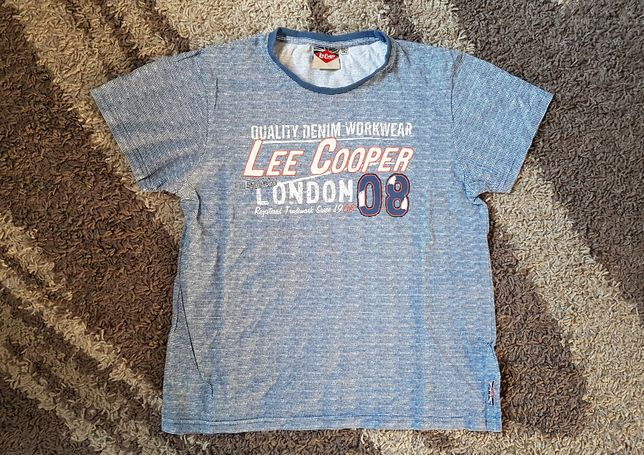 T-Shirt koszulka Lee Cooper 11/12 lat ideał oryginał jak nowa
