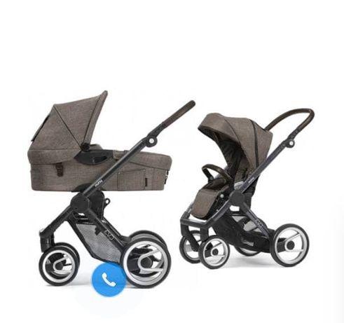 Детская коляска Mutsy Evo Farmer 2 в 1 + сумка + дождевик