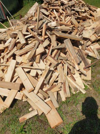 Drewno opałowe odpady tartaczne,sosna, świerk,
