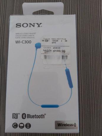 Sprzedam nowe słuchawki bluetooth Sony