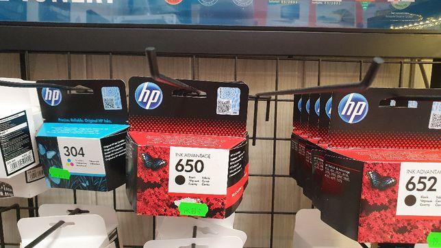 Tusze nr 650 oryginał do drukarki HP. Tusz czarny.