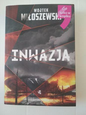 Książka Inwazja Wojtek Miłoszewski
