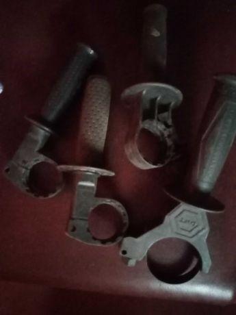 ручки-держатели для перфраторов и дрелей разного диаметра
