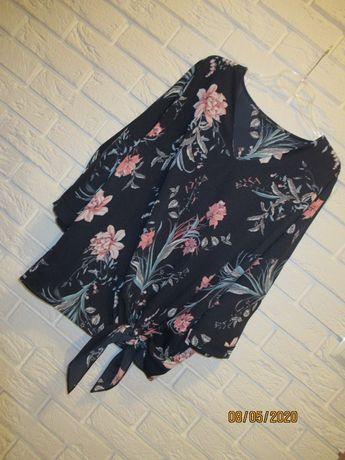 NOWA bluzka damska roz. 50 ( 22) kwiaty na lato