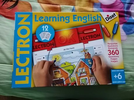 Jogo aprender inglês