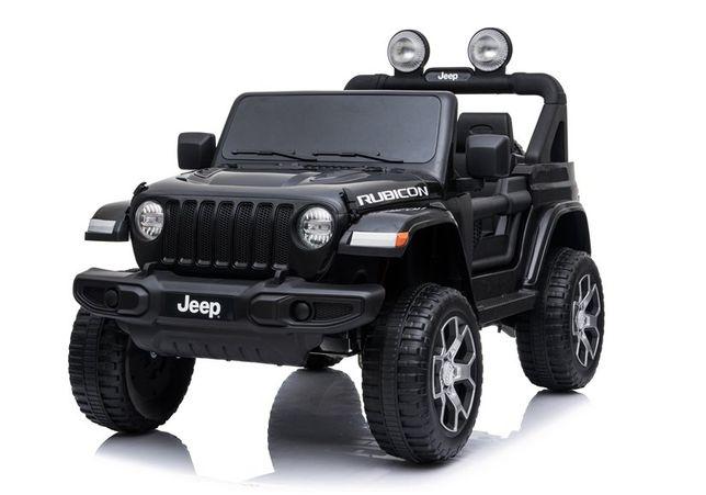 Auto na Akumulator Jeep Wrangler Rubicon Skóra # 2x45 W
