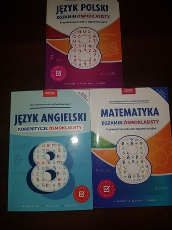 Książki egzamin ósmoklasisty