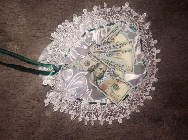 Весільна серветка на гроші