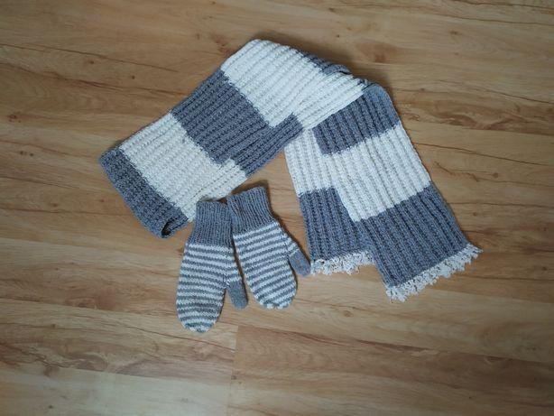Szalik i rękawiczki