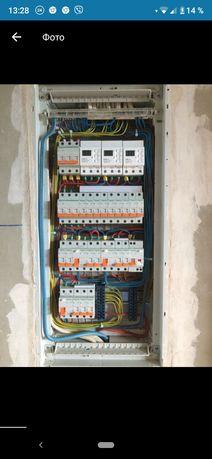 Послуги електрика, електромонтаж, відеонагляд, сигналізація