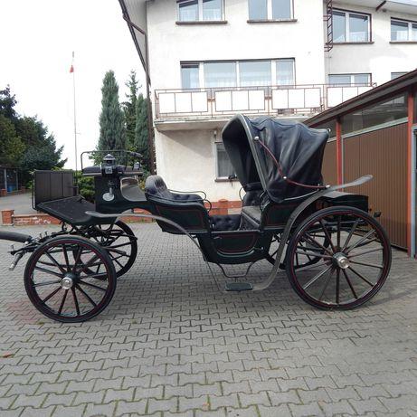 Bryczka konna powóz Landauer