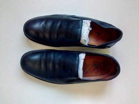 Осенние мужские туфли -мокасины 41 р., 41/42 р, 42 р. ( 27,5-28 см)