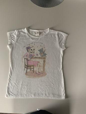 T-shirt leopardo transparente