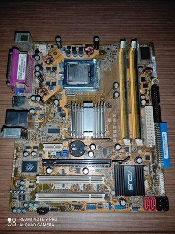 Материнська плата Asus P5GZ-MX Проц INTEl CELERON 351 3,2GH DDR2 2/512