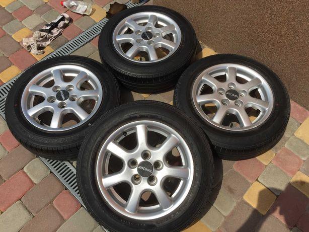 Тітанові діски RonaL 5*100 R14 VW Golf 4-polo rapid-faBia-