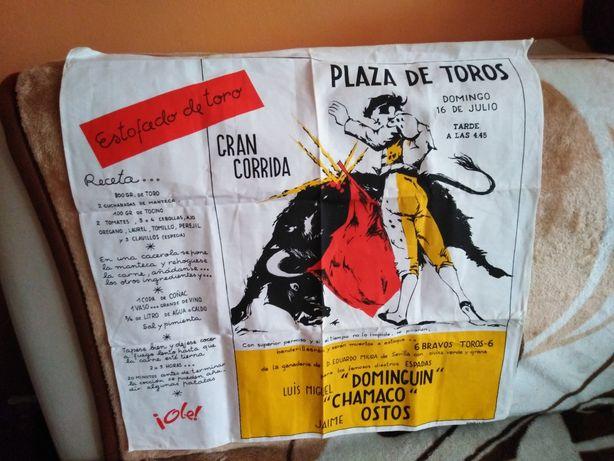 Plakat na płótnie 59x59cm Gran Corrida Plaza de Toros walka z bykiem