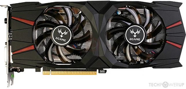 GTX 1060 3GB Colorful iGame Flame Ares U / Гарантия / Trade-in