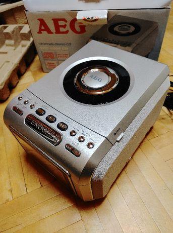 Radiobudzik AEG SRC 4306 z CD