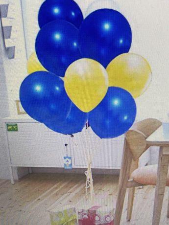 Balões Azuis 12 polegadas para decoração de formatura
